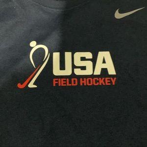 Official USA field hockey Nike dri fit long sleeve